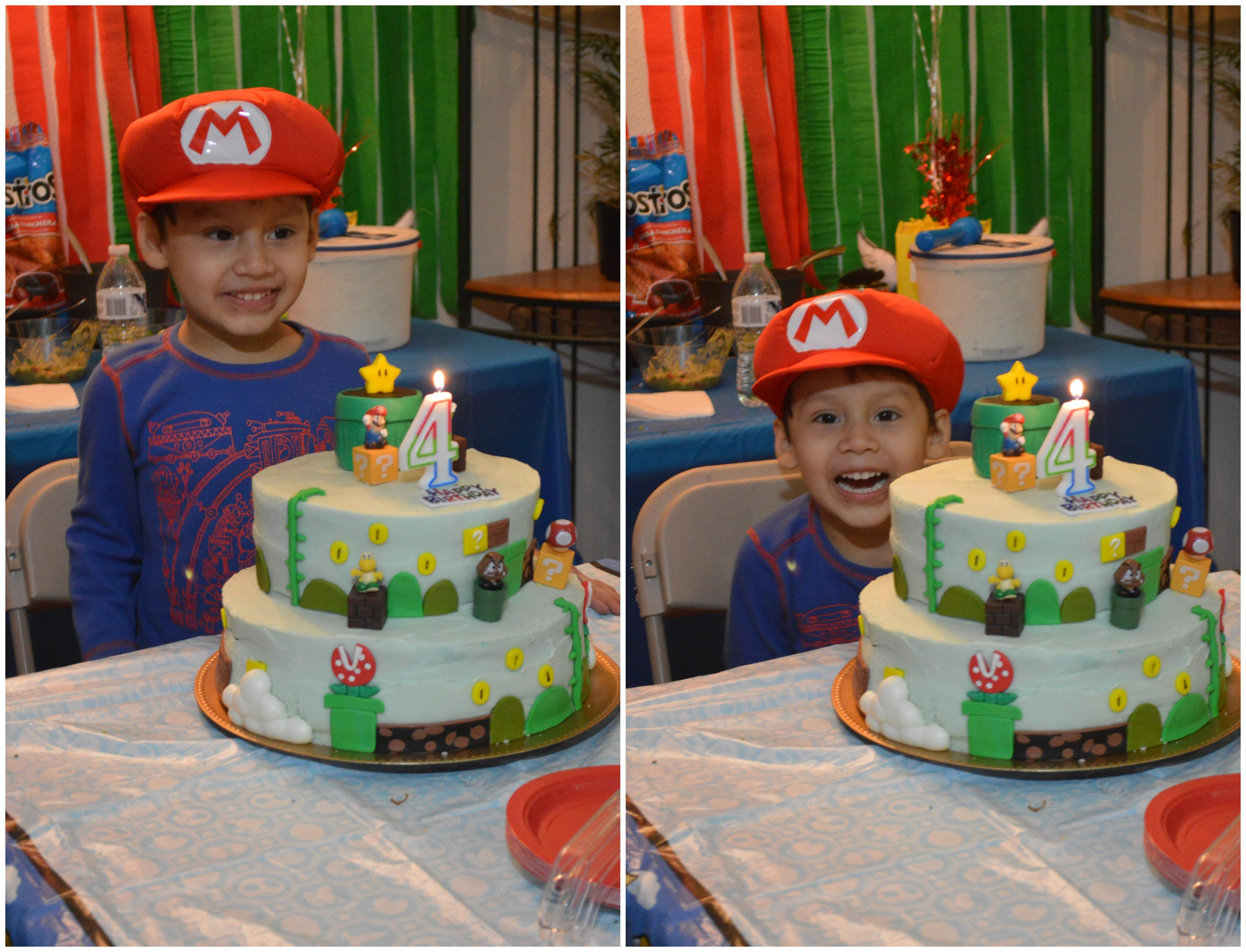 CL's 4th Birthday — Super Mario Themed Birthday Party